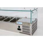 Хладилна витрина 8х1/3GN, 1800х380х435h