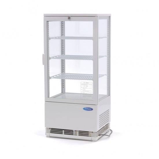 Хладилна витрина - 78л. бяла