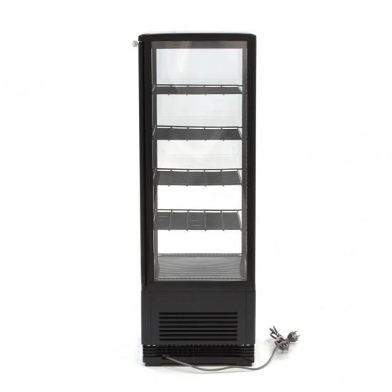 Хладилна витрина - 98л. черна