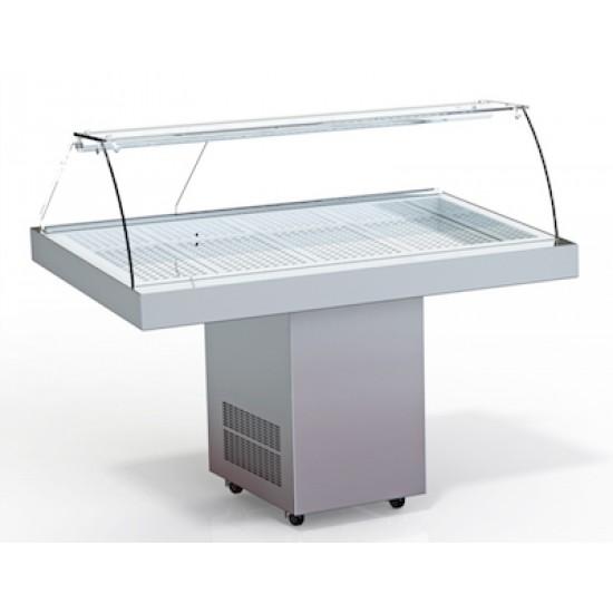 Хладилна витрина експозиционна за прясна риба VP-149-K