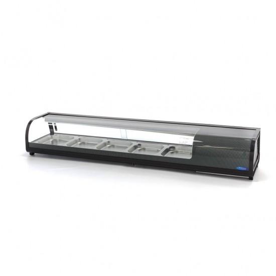 Хладилна витрина за суши 8 GN 1/3 или 5 GN1/2