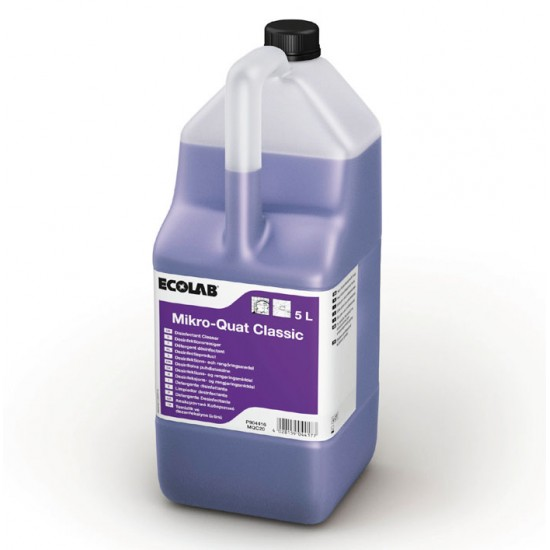 Почистващ и дезинфекциращ препарат Микро Кват Класик 2*5л.
