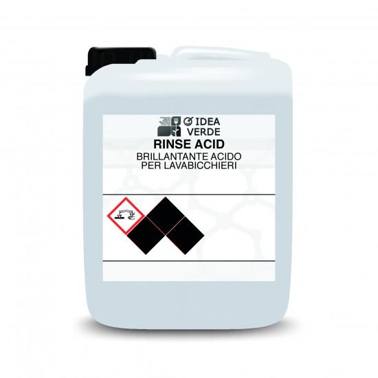 Изплакващ препарат за съдомиялни машини 10 кг Rinse Acid 10