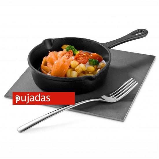 Чугунен мини тиган Ø 140мм за презентационно готвене и сервиране