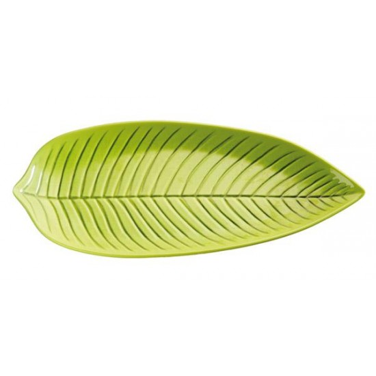 Поднос листо, меламин, 36х16х3 см, APS