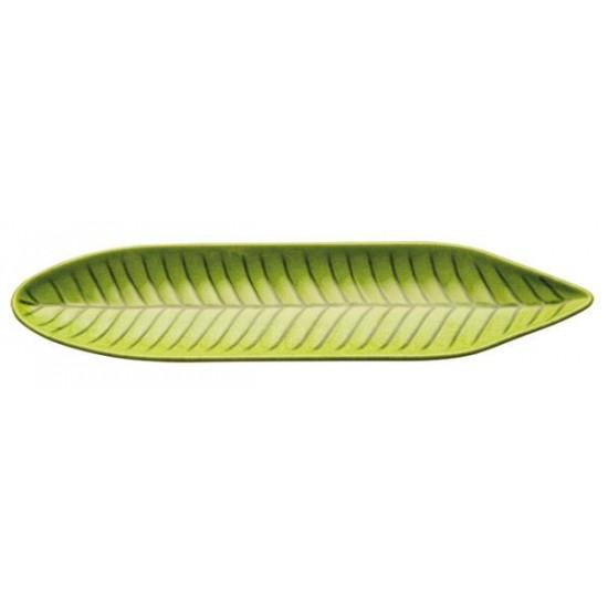 Поднос листо, меламин, 34.5х8х2.5 см, APS