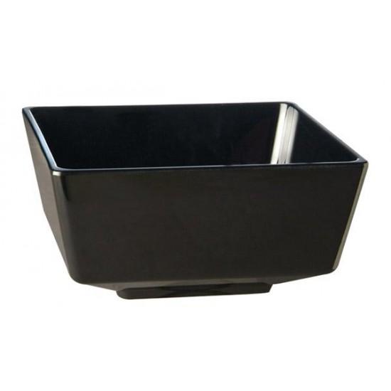 Купа черен меламин, 19х19х9,5 см, APS