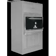 MIBRASA барбекю фурна с долен и горен шкаф