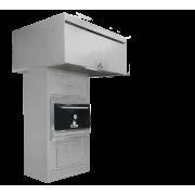MIBRASA барбекю фурна с долен, горен шкаф и аспиратор