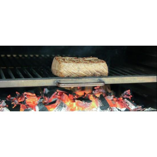 Барбекю-фурна на дървени въглища, настолна HMB MINI