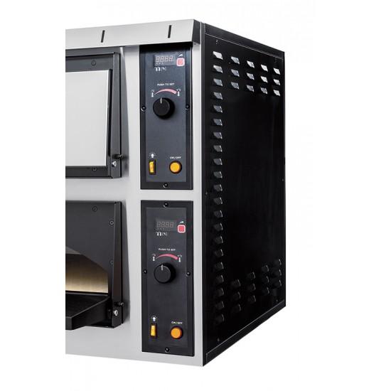 Пекарна на две нива за 4 бр. тави, модел TRAYS 44 GLASS