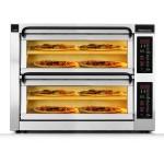 Пица фурна двойна ширина, 2 камери, 4 плочи, настолна. PM 352ED-2DW PizzaMaster Sweden