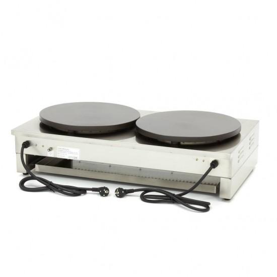 Котлон за палачинки двоен, електрически 2 х ф400 мм