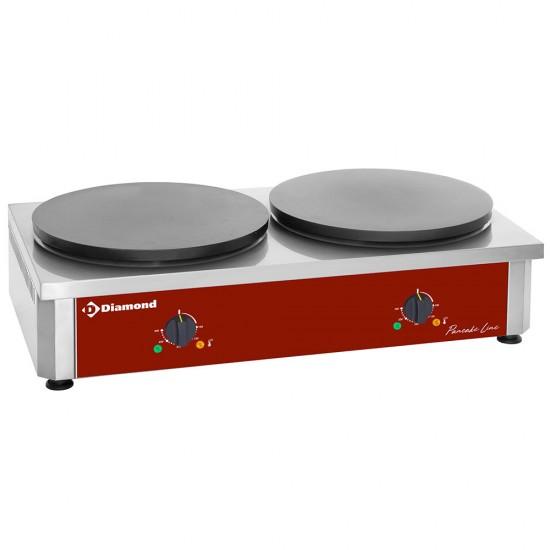 Котлон за палачинки - електрическа  крепиера, двойна BRET/2Е-R