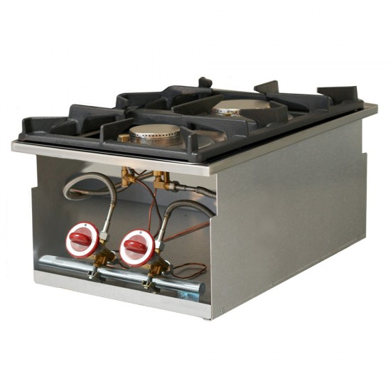 Газов котлон 2 горелки за вграждане