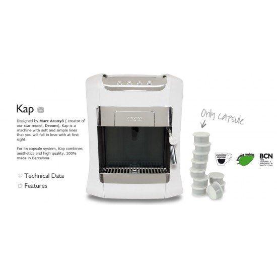 Автоматична кафемашина  за кафе на капсули Kap Tronic  Barista Spain