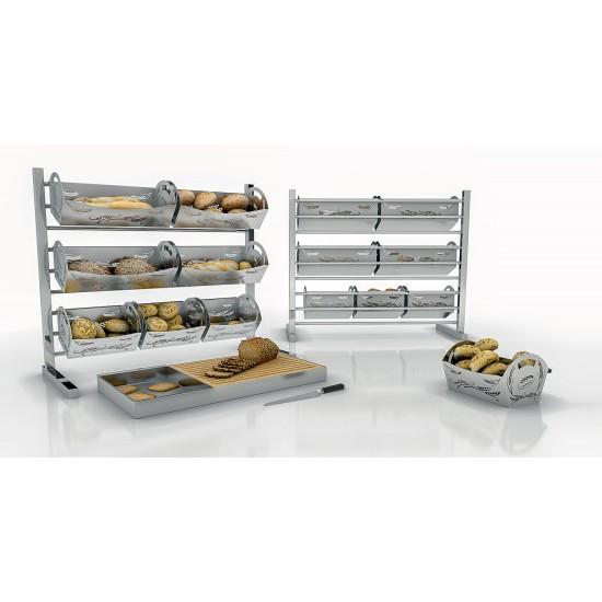 Стойка за панери за хляб със 7 панера, Ozti