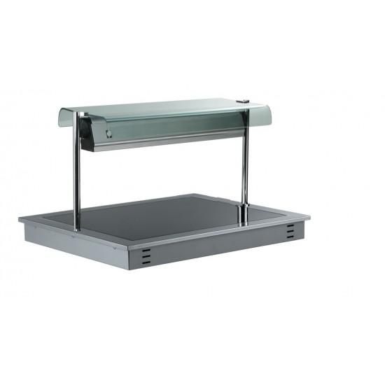 Отопляема стъклокерамична плоча за вграждане с хигиенна надстройка, DC0034