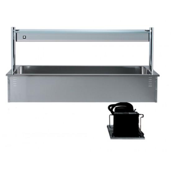 Охладителна вана за вграждане с хигиенна надстройка, DC0043