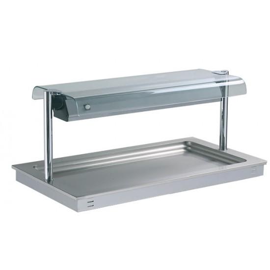 Охладителна вана за вграждане H110 с хигиенна надстройка, DC0443