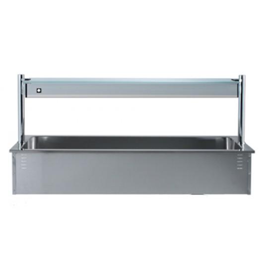 Неутрална вана за вграждане с хигиенна надстройка, DC0545