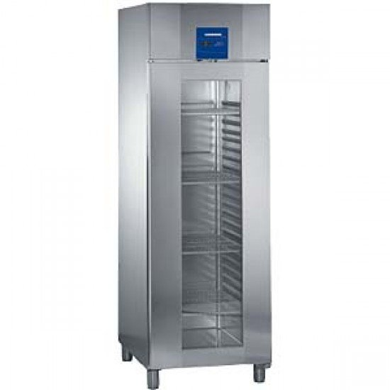 Хладилник 2/1GN от инокс със стъклена врата ProfiLine Liebherr