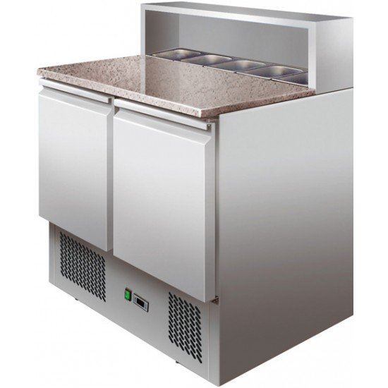 Хладилна маса за пици (+2°С, +8°С), PS900 Forcar Италия