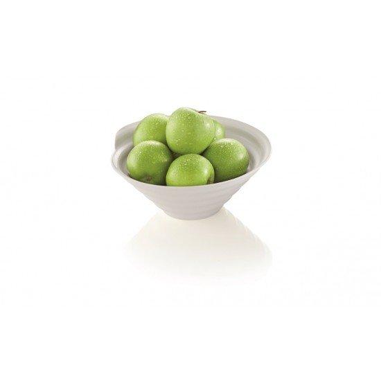 Купа за плодове, меламин, бял