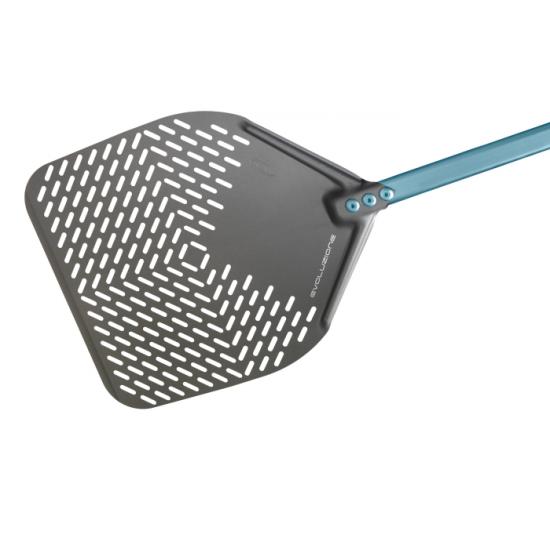 Лопата за пица перф.33/33/h150, Evoluzione Gi.Metal