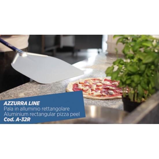 Лопата за пица Gi-Metal, плътна, 33x33, дръжка 120 см