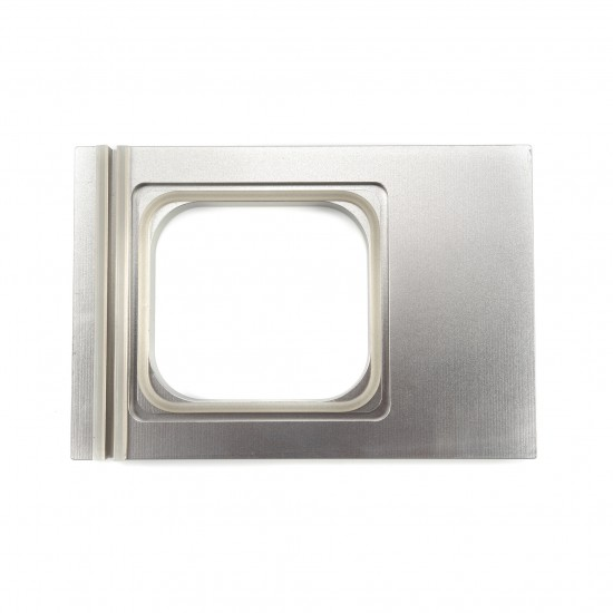 Матрица за тарелка 1/6GN 176х162мм - 1 тарелка