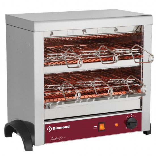 Тостер с кварцови нагреватели  M6-TOSTI/B