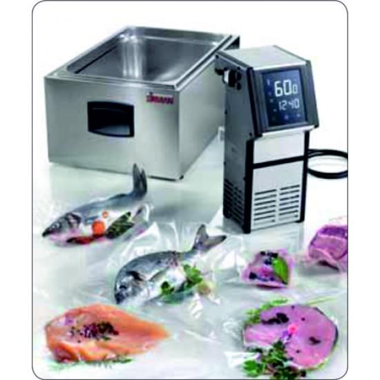 Уред за нискотемпературно готвене с тъчскрийн, SOFTCOOKER WI-FOOD+вана 1/1 GN