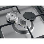 Печка с 5 газови котлона и ел. фурна Saro