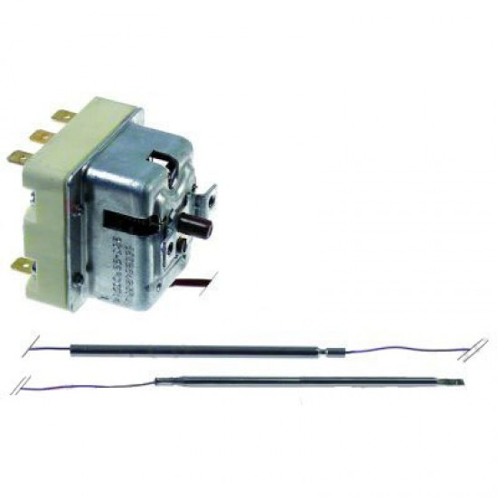 Термостат защитен 230°C 3-pole 2x20/1x0,5A probe ø 4mm probe length 120mm
